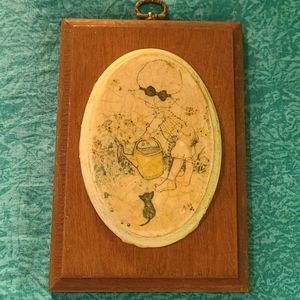 VTG Holly Hobbie Wall Decor